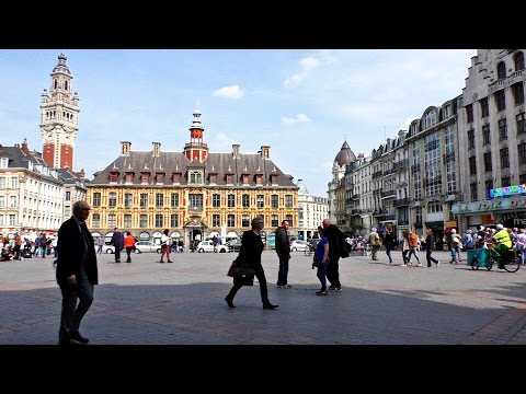 Lille, France - Ville, city tour, guide, visit , travel, tou