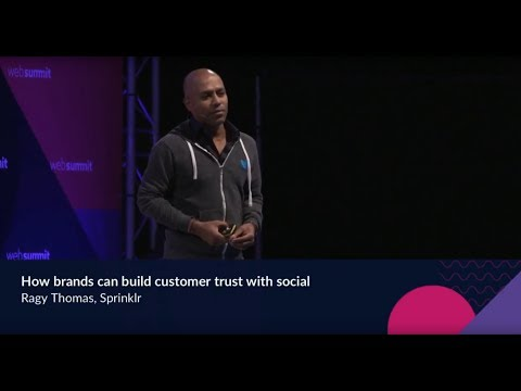 Ragy Thomas - How brands can build customer trust with social