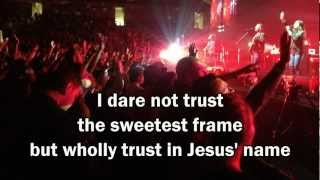Cornerstone - Hillsong Live (with lyrics) (Worship with tears 31)