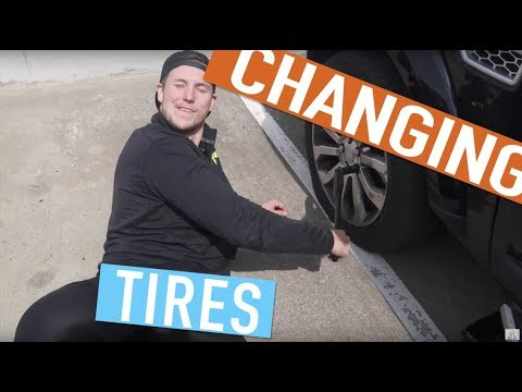 how to change a tyre for dummies