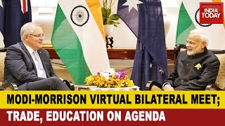PM's Virtual Meet: Modi, Morrison To Discuss Trade, Education, Covid-19 In Virtual Bilateral Summit