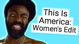 Nicole Arbours Feminist This Is America Parody