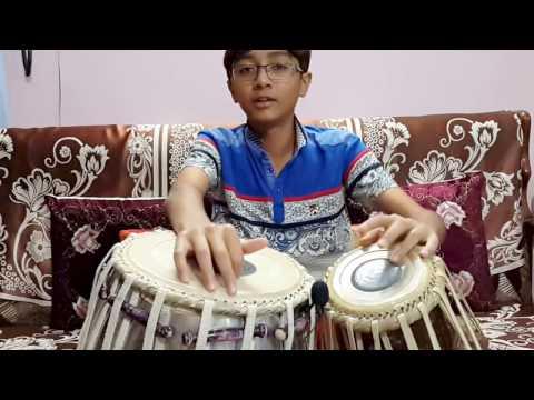 Aaj Dil Shayarana - Tabla Cover By Ayaansh Rajotia....