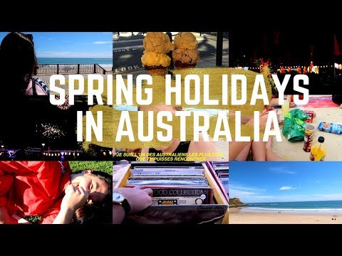 SPRING HOLIDAYS IN AUSTRALIA - STUDY ABROAD