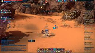 TERA Desert Lightning Kumas vs. Priest, Berserker, Warrior - CBT 4 Europe