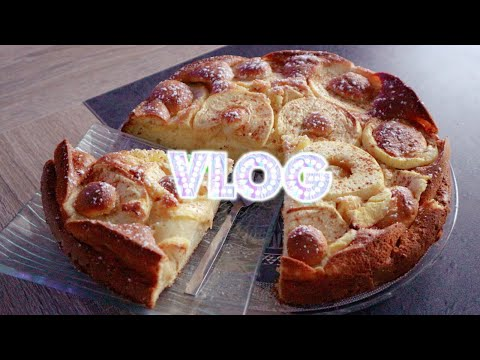 WEEKLY VLOG : Mes achats chez Stokomani, mon Gâteau pommes mascarpone et mes chouchous Lidl
