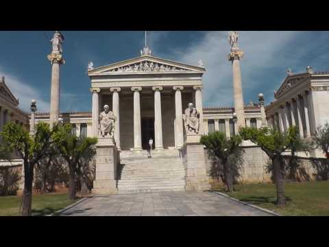 The Academy of Athens,Greece's national academy.Афинская академия наук