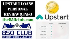 Upstart Loans Personal Review & Info - 850 Club Credit Consultation