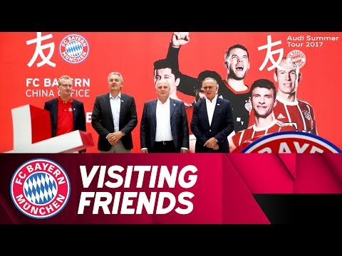 Bayern Officials Visit China Office | Audi Summer Tour 2017