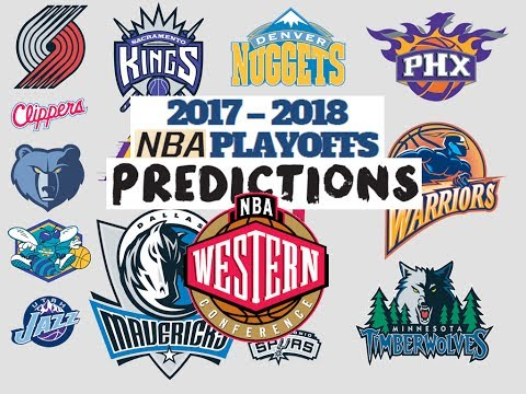 2017-2018 Western Conference Predictions For Each Team!!!