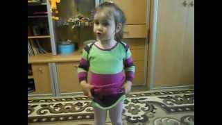 Смуглянка молдаванка песня в исполнении двухлетней дочери