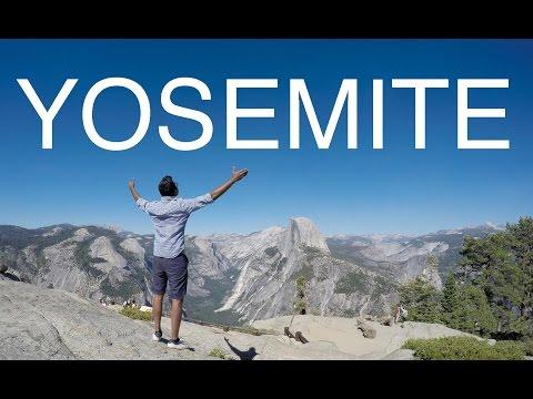 CAMPING IN YOSEMITE! - A Solo Trip | CAMP 4 |  2017 | 4K | GoPro