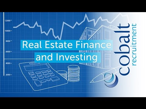 Real Estate Finance and Investing roles with Cobalt Recruitment