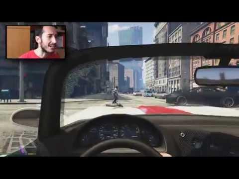 GTA 5 PS4 CAZZEGGIO SUPREMO IN PRIMA PERSONA
