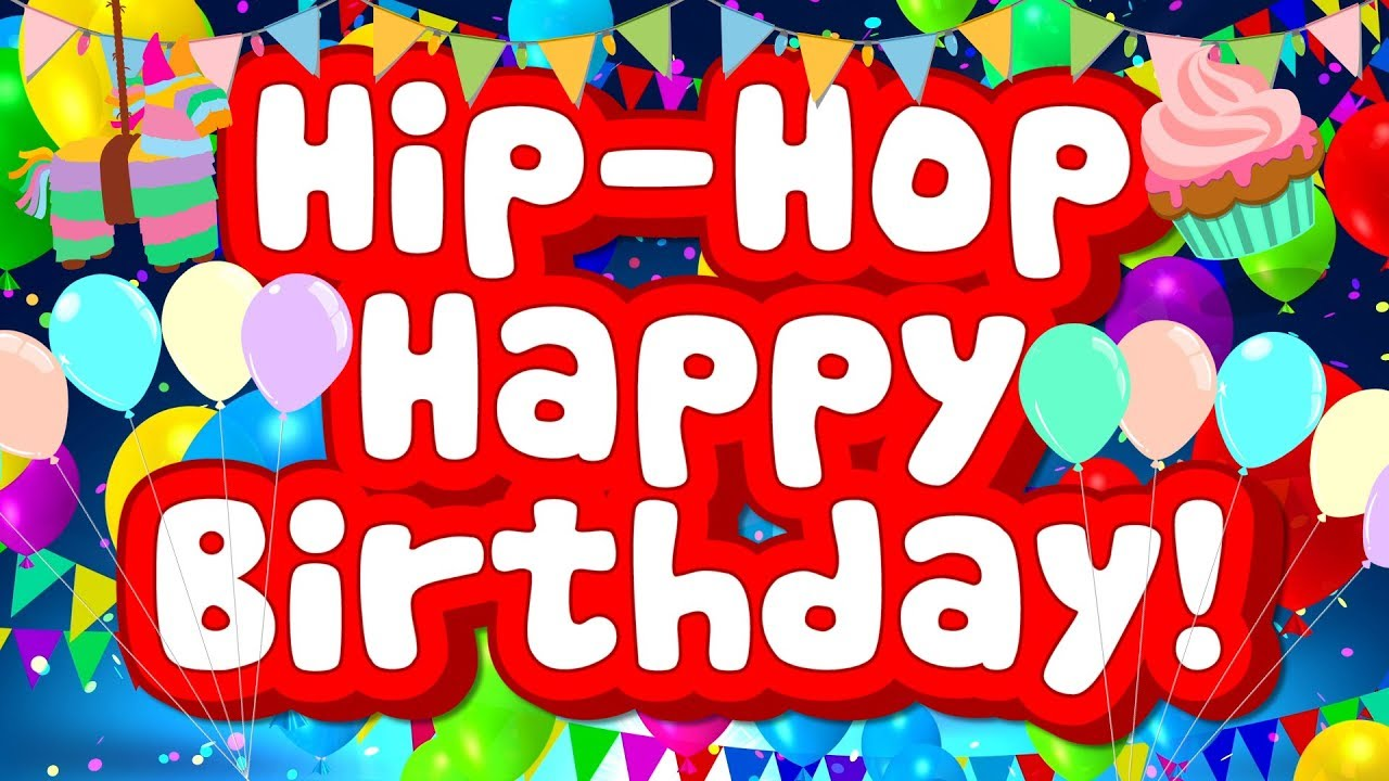 Hip Hop Happy Birthday Fun Birthday Song For Kids Jack Hartmann Youtube