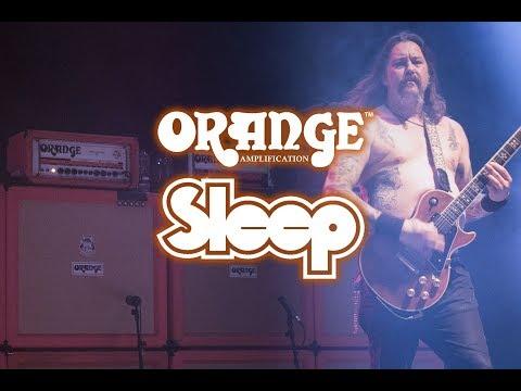 Sleep's Matt Pike and Orange Amplifiers.