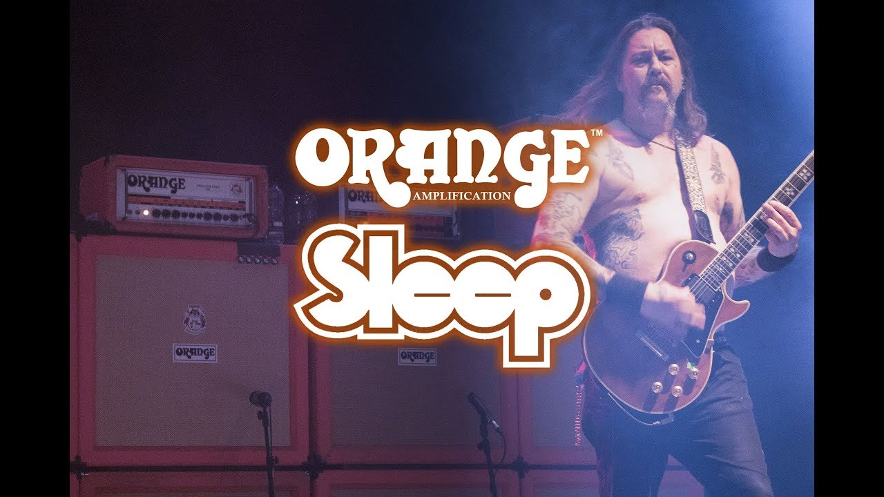 SLEEP's Matt Pike Talks About That Massive Wall of Orange