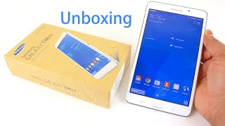 Samsung Galaxy Tab 4 7.0 Unboxing | and Setup