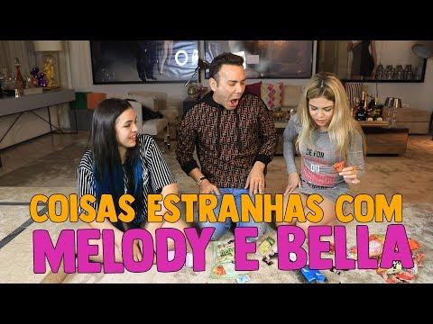 COISAS ESTRANHAS COM MELODY E BELLA ANGEL | #HottelMazzafera