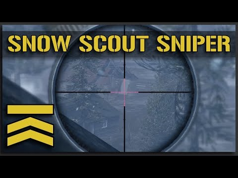 Snow Scout Sniper - V10 Marksman Squad Gameplay (Squad Full Game)