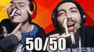 AUTOS EXPLOTANDO 🔥 EN 50 - 50 | Reddit 50-50 Challenge
