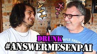 DRUNK DAD JOKES & EMBARRASSING STORIES! #AnswerMeSenpai (ft. My Dad)