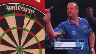 PDC German Darts Championship 2014 - Day 1 - Dean Winstanley vs. Matt Padgett