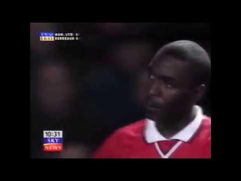 Manchester United 2 - 0 Bordeaux  (01-03-2000)  Champions League