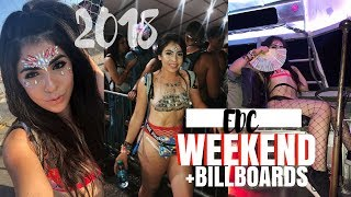 EDC LAS VEGAS 2018 VLOG + BILLBOARDS 2018