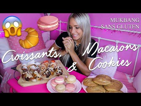 macarons,-croissants,-cookies-mukbang-|-recettes-sans-gluten⤵️