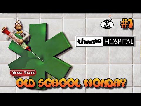Old School Monday: Hesse plays Theme Hospital! #1