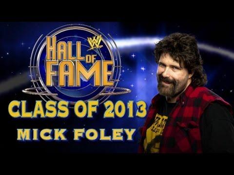 2013 WWE Hall of Fame Inductee Mick Foley: Raw, Jan 21, 2013