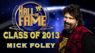 2013 WWE Hall of Fame Inductee Mick Foley: Raw, Jan 21, 2013