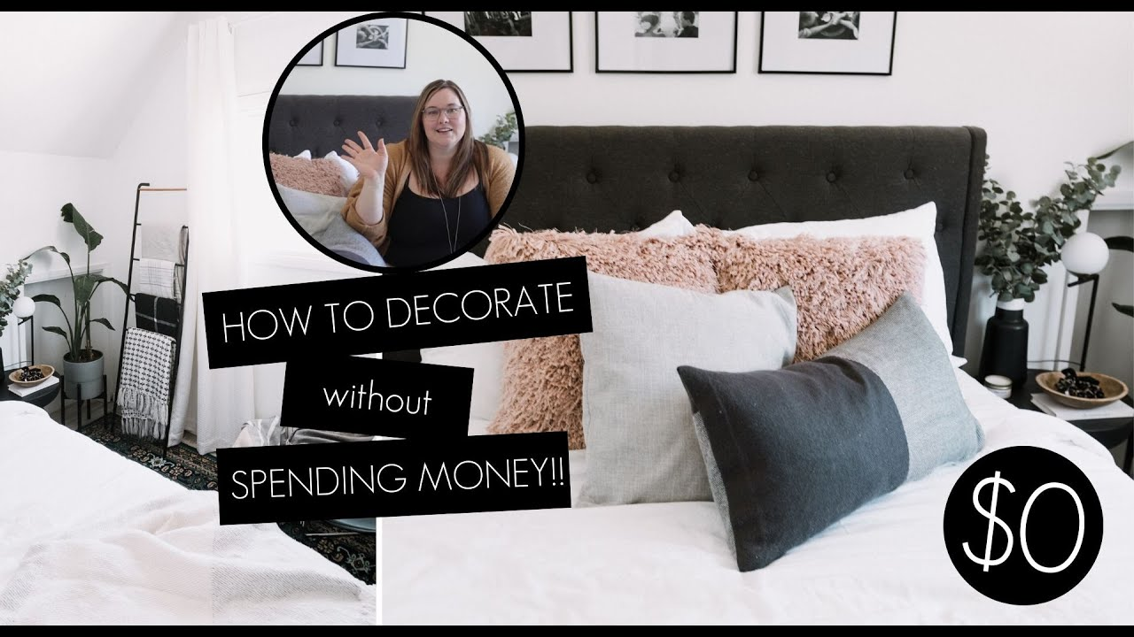 Shop Your Home How To Decorate Your Room Without Buying Anything Youtube