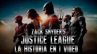 Snyder Cut Justice League : La Historia en 1 Video