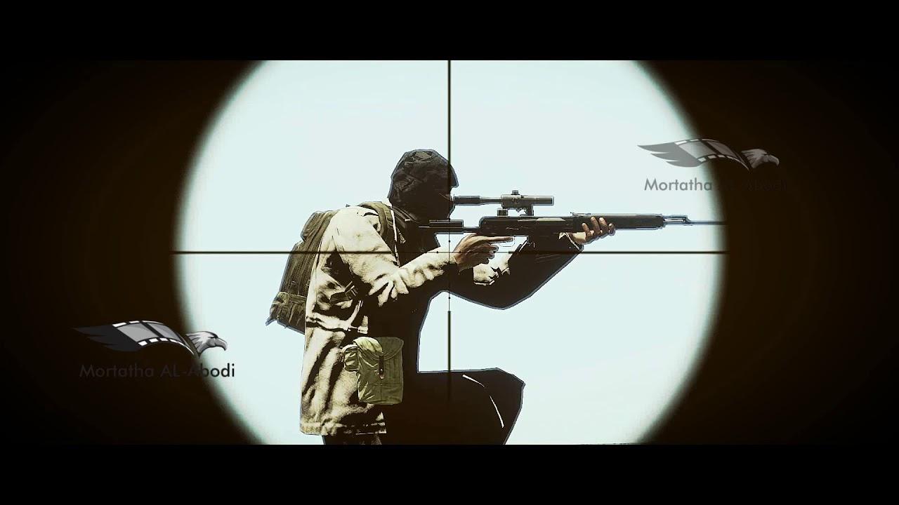 Sniper head shots ARMA 3قناص النخبه واصابات دقيقة في الرأس لعناصر ارهابيه ارما3