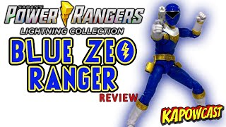 POWER RANGERS LIGHTING COLLECTION BLUE ZEO RANGER REVIEW