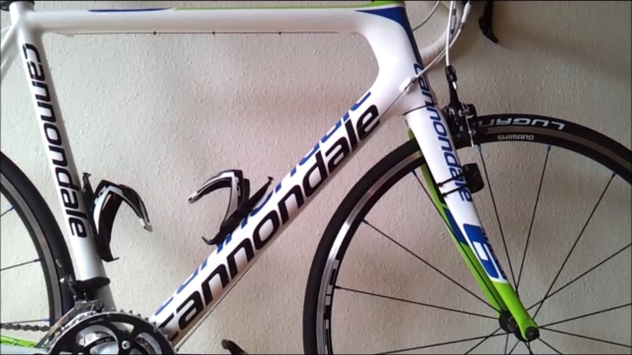 Bike Repair Tools Cannondale SuperSix 5 105 Road Bike 2013 - YouTube