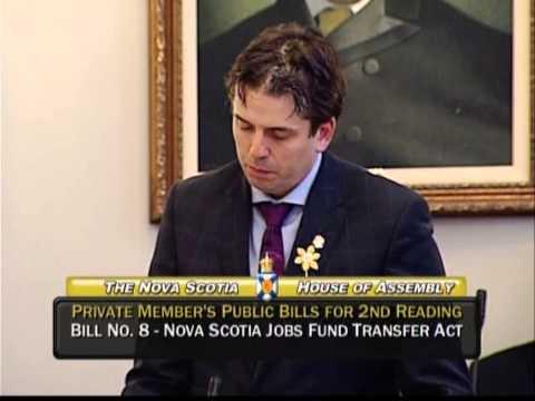Joachim Stroink, MLA Halifax Chebucto responds to Bill #8