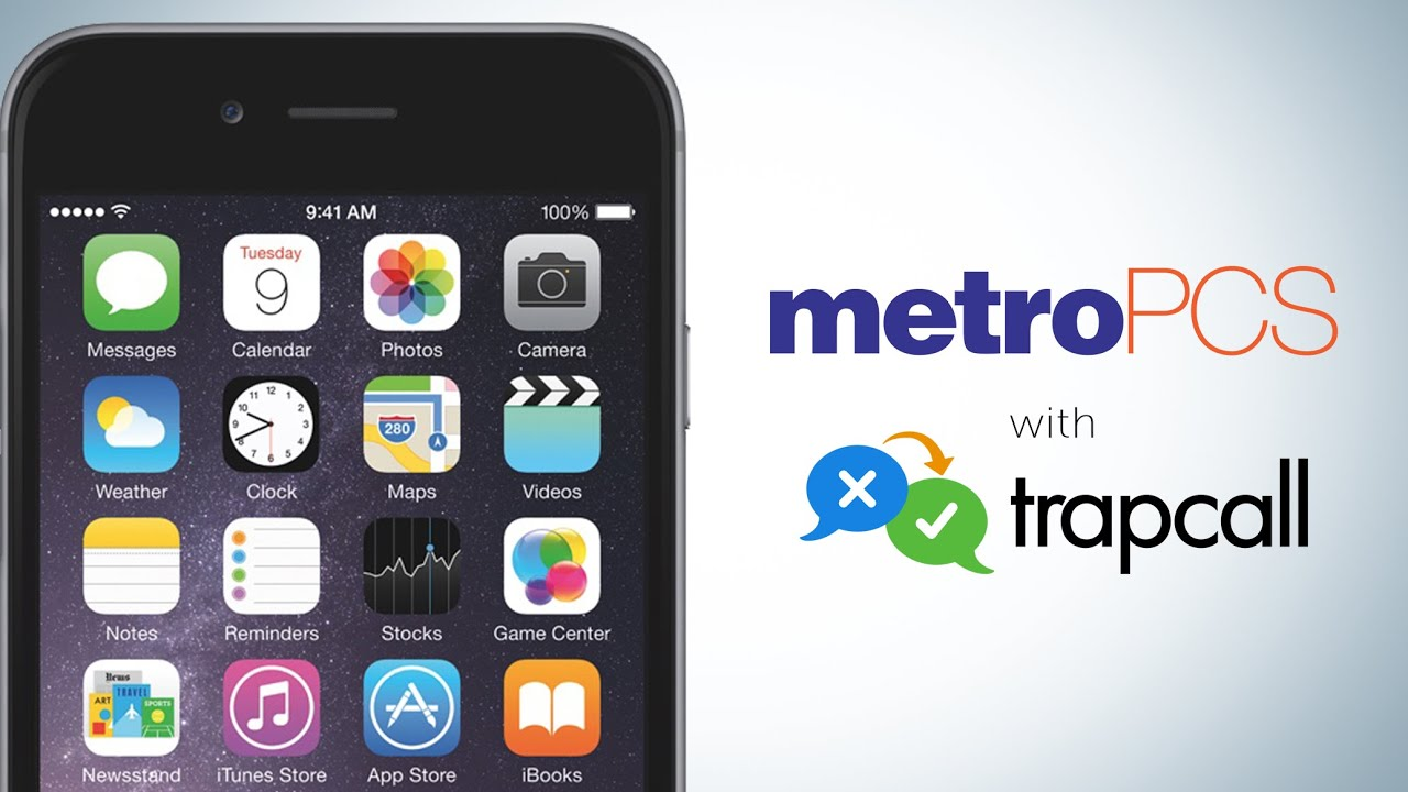 How do I activate TrapCall on my MetroPCS phone? (Video