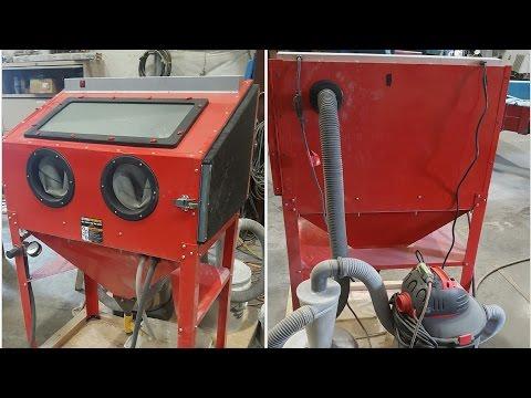 Sandblast Cabinet Upgrade – Cabinets Matttroy