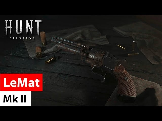 Revolver LeMat Mark II - Hunt: Showdown / револьвер Ле Ма