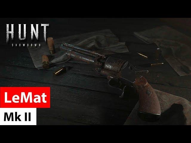 Revolver LeMat Mark II - Hunt: Showdown / револьвер Ле Ма