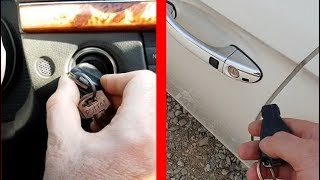Closing/Opening all Windows with Remote Control on Mercedes W211, W219 / How to start Mercedes