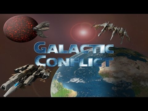Galactic Conflict RTS - Universal - HD Gameplay Trailer