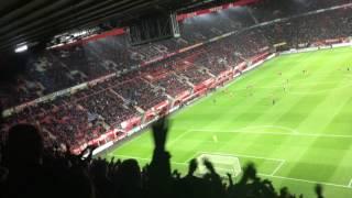 Alle supporters moeten het stadion verlaten : Houdoe & Bedankt : FC Twente-PSV : 6/4/2017