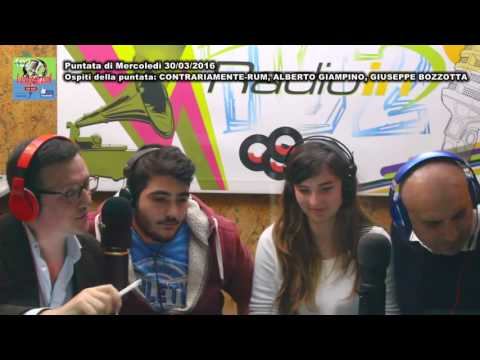 L'ALTROPARLANTE - MAURO FASO - RADIO IN: Puntata di mercoledì 30/03/2016