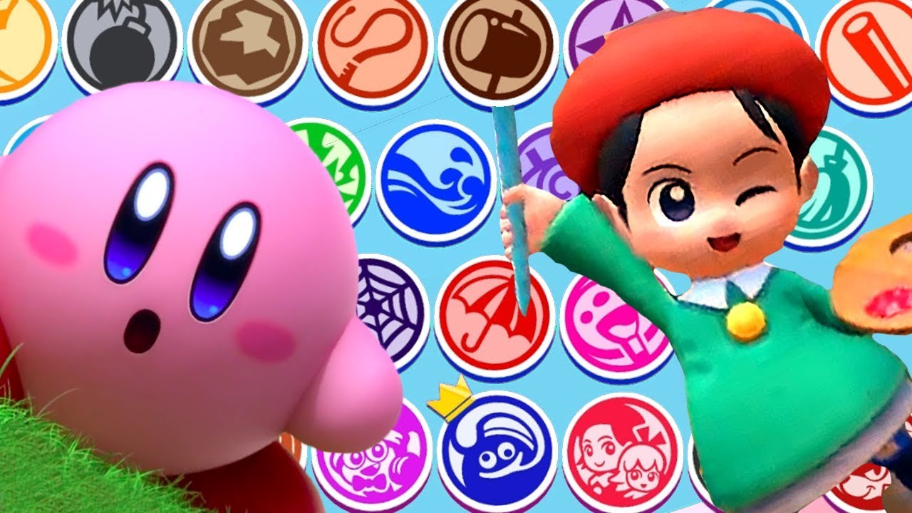 Kirby Star Allies All Characters Unlocked / ALL DLC CHARACTERS + Dark Meta Knight & More