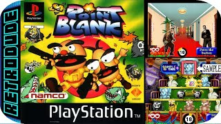 Point Blank PS1 {playing retro video games} 🎮📀