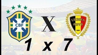 COPA 2018: Brasil x Bélgica / O 7x1 fica para as quartas?